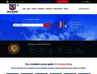 totalstudentcare.com screenshot