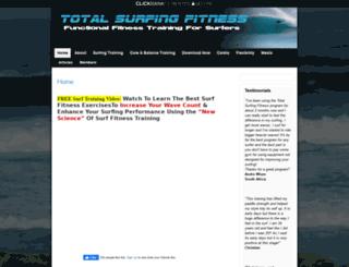 totalsurfingfitness.com screenshot