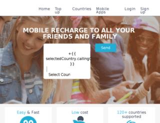 totaltopup.com screenshot