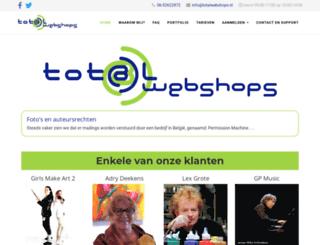 totalwebshops.nl screenshot