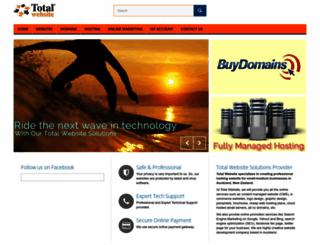 totalwebsite.co.nz screenshot