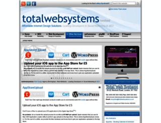 totalwebsystems.co.uk screenshot