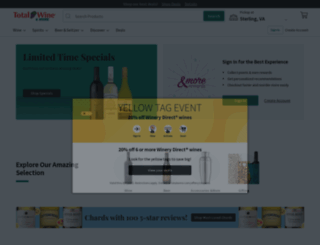 totalwine.com screenshot