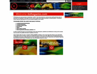 tothegame.com screenshot