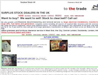 tothetrade.co.uk screenshot