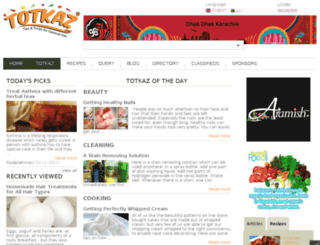 totkaz.com screenshot