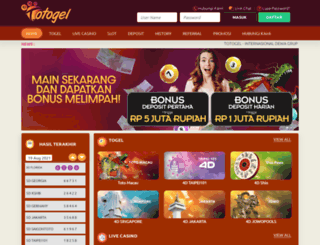 totogel.net screenshot