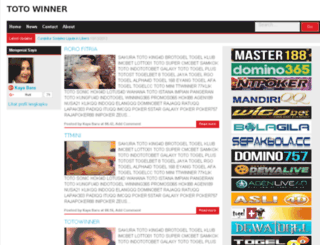 totowinner.blogspot.com screenshot