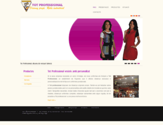 totprofessional.com screenshot