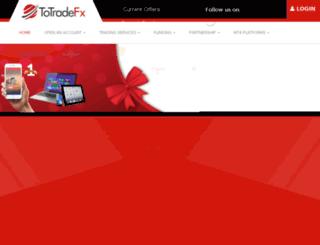 totradefx.com screenshot