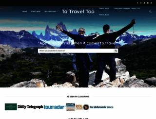 totraveltoo.com screenshot