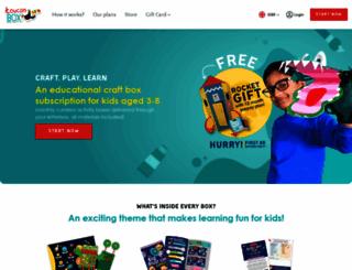 toucanbox.com screenshot