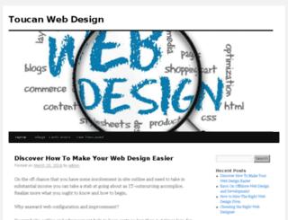 toucanwebdesign.biz screenshot