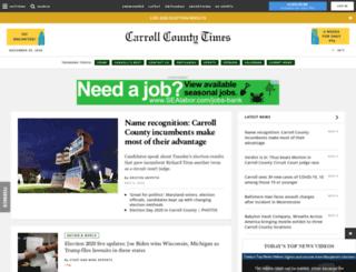 touch.carrollcountytimes.com screenshot