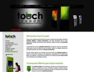 touchecuador.com screenshot