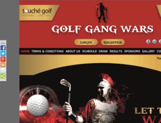 touchegolfleague.com screenshot