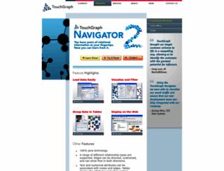 touchgraph.net screenshot