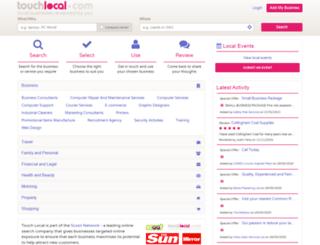 touchlincoln.com screenshot