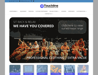 touchline-sports.co.uk screenshot