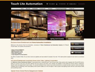 touchlite.in screenshot