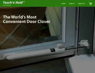 touchnholddoorclosers.com screenshot