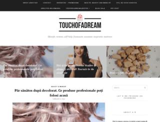 touchofadream.ro screenshot