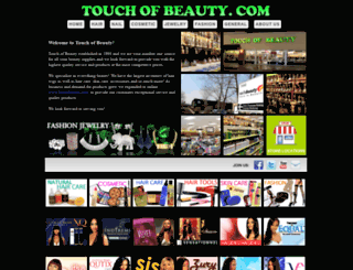 touchofbeauty.com screenshot