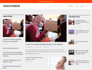 touchofeurope.net screenshot