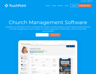 touchpointsoftware.com screenshot