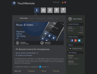 touchremote.eu screenshot