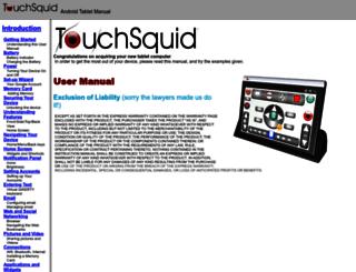 touchsquid.com screenshot