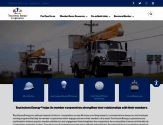 touchstoneenergy.com screenshot