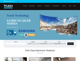 touchtechnology.co.za screenshot