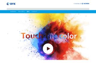 touchthecolor.com screenshot