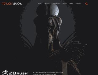 touchvision.co.za screenshot