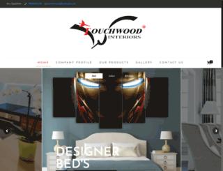 touchwoodinterior.com screenshot
