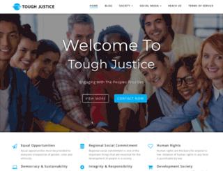 toughjustice.com.au screenshot