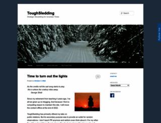 toughsledding.com screenshot