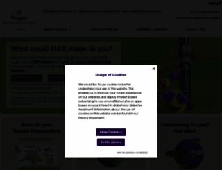 toujeo.com screenshot