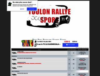 toulonrallyesport.niceboard.com screenshot
