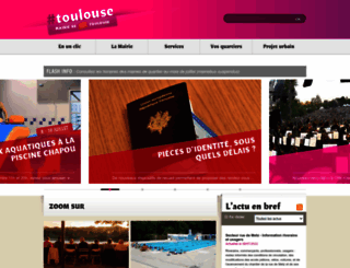toulouse.fr screenshot