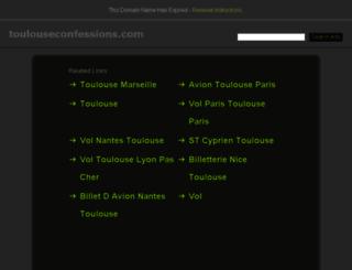 toulouseconfessions.com screenshot