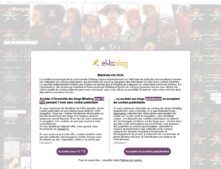 tounsi.eklablog.fr screenshot