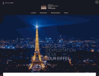 tour-eiffel.biz screenshot