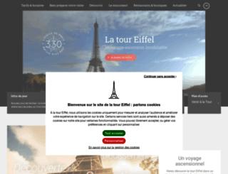 tour-eiffel.fr screenshot