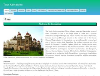 tour-karnataka.com screenshot