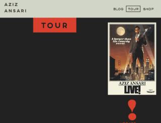 tour.azizansari.com screenshot