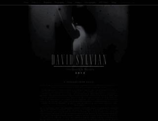 tour.davidsylvian.com screenshot