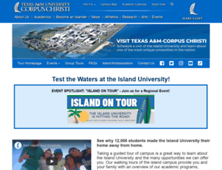 tour.tamucc.edu screenshot