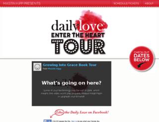tour.thedailylove.com screenshot